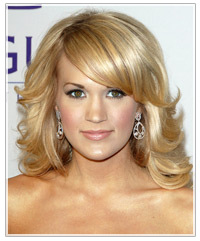 Blonde hair color warm